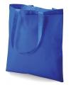 Kobaltblauwe boodschappentas