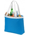 Shopper koeltassen blauw