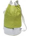 Ronde groene matrozentassen 59 cm