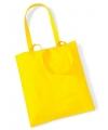 Gele boodschappentas