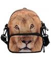 Kindertas met leeuwenprint voor op de heup
