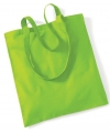 Lime groene boodschappentas