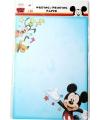 A4 schrijfpapier met plaatjes van Mickey Mouse 20 vellen