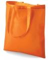 Oranje boodschappentas