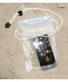 Smartphone tasje wit 13 x 24,5 cm