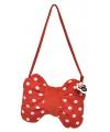 Kinder handtas rode Minnie Mouse strik