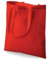 Rode boodschappentas