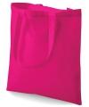 Fuchsia roze boodschappentas
