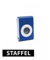 Stappelteller blauw met broek clip