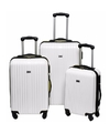Schokbestendige koffers wit 66 cm