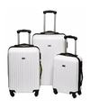 Schokbestendige koffers wit 56 cm